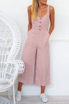Women S Fashion Kuala Lumpur Pink Fashion, Fashion 2020, Fashion Outfits, Womens Fashion, Trendy Outfits, Summer Outfits, Cute Outfits, Summer Dresses, Capri Outfits
