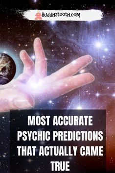 Some do believe there are individuals with unique abilities that can help you understand the future.  But at the same time, some skeptics will argue that there is no such thing as psychic predictions.   Yet some accurate psychic readings and predictions stand out as proof that throughout history. Different people managed to predict quite well how the future will unravel (we talk about some examples in this article). And isn't it the best proof that it's all real? Real Psychic Readings, Psychic Predictions, Are Psychics Real, People Dont Understand, Dream Interpretation, Psychic Abilities, Believe, Future, History