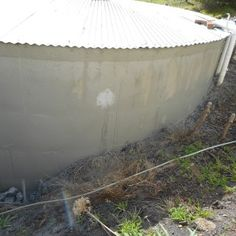 After Repair conCrete Tanks D. Water Tank, Tanks, Concrete, Bath, Outdoor Decor, Projects, Dunk Tank, Log Projects, Bathing