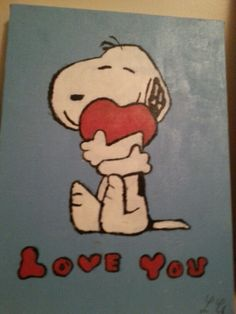 Snoopy loves you!