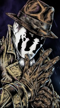 Rorschach,Роршах, Уолтер Джозеф Ковач,Watchmen,Хранители,DC Comics,DC Universe, Вселенная ДиСи,фэндомы