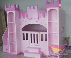 Cuartos de ni as on pinterest girl rooms girls bedroom - Muebles para ninas ...