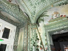 Bergl Rooms in Schönbrunn