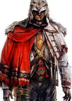 Assassins creed: Connor, The Native. LOVE! Wow :0