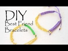 DIY Multichain Friendship Stacked Bracelets ArmCandy How to Make - YouTube
