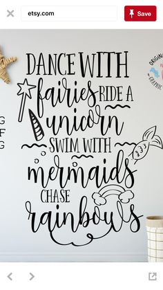 Fun decal for little girls