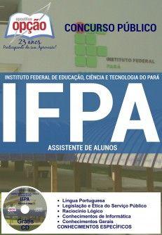 Nova -  Apostila Concurso IFPA 2016 - Vários Cargos  #Aprovado