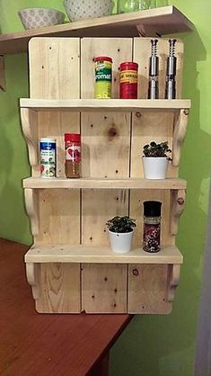 Pallet Shelves Projects 100 Pallet Diy Shelve Latest Design Projects - In these fashionable days of advancement, we tend to see loads of paying being created within the construction and particularly Pallet Crafts, Diy Pallet Projects, Wood Crafts, Wood Projects, Woodworking Projects, Pallet Ideas, Woodworking Videos, Youtube Woodworking, Woodworking Clamps