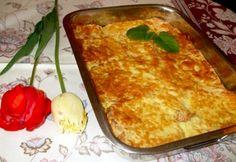 Tepsis bundás kenyér Quiche Muffins, Hungarian Recipes, Hungarian Food, Breakfast At Tiffanys, My Recipes, Recipies, Lasagna, Entrees, Macaroni And Cheese