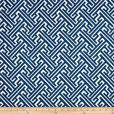 Blue Pillow Cover, Cobalt Blue, Trellis Pillow, White, Geometric, Lattice, Classic, Throw Pillow, Modern, SummerHome, Spring, Lacefield
