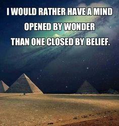 A mind of wonder