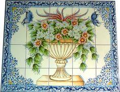 PANNELLO MURALE 019 - CERAMICA DI CALTAGIRONE - Ceramiche Artistiche Agatino Caruso - Ceramica di Caltagirone #lsicilia  #sicily #caltagirone