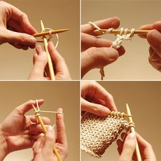Looks like a good site to demonstrate the basics - like how to know and purl...