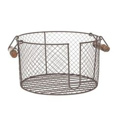 Wire Plate Caddy with Handles | Kirklands