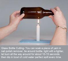 cut a bottle