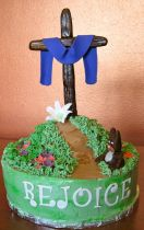 Religious easter cakes with wood cross.PNG