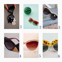 donneinpink- fai da te e consigli per gli acquisti: Refashion occhiali da sole- Imperdibili progetti d...