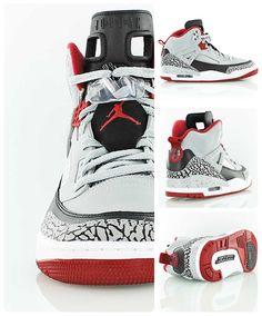 b9e83930b18 Out now! Jordan Spizike  Wolf Grey Gym Red . Mars Blackmon in