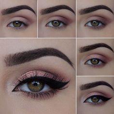 sexy eye makeup - Sexy Augen Make-up – Lidschatten sexy eye makeup – eyeshadow # - Sexy Eye Makeup, Mac Makeup, Skin Makeup, Eyeshadow Makeup, Beauty Makeup, Pink Eyeshadow, Eyeshadow Palette, Makeup Meme, Colorful Eyeshadow