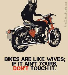 Bikes are...