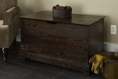 Build your own storage chest to tuck away extra blankets or out-of ...