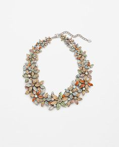 SUMMER FLOWERS NECKLACE-Jewellery-ACCESSORIES-WOMAN | ZARA United States
