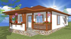 modele de case mici in stil italian - Yahoo Image Search Results Gazebo, Pergola, Mansions Homes, Village Houses, Design Case, Traditional House, Romania, Custom Homes, Home Goods