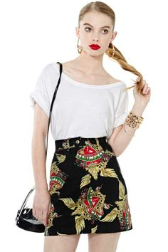 I Heart Moschino Skirt