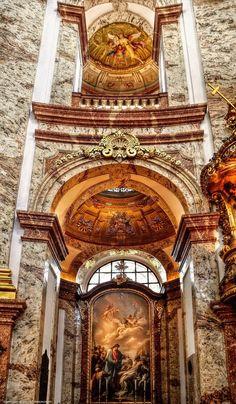 Iglesia de San Carlos, Viena.