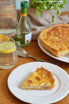 Quiche Lorraine is a French classic - delicious combination of eggs and bacon will rock your world, because who does not like bacon?