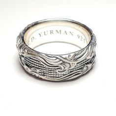 David Yurman Mens 10mm Waves Band Ring in Sterling Silver Size 11 - Wave Ring - Ideas of Wave Ring #wavering #ring #jewelry -  3  The post David Yurman Mens 10mm Waves Band Ring in Sterling Silver Size 11 appeared first on Awesome Jewelry. David Yurman Mens, Ring Necklace, Earrings, Wave Ring, Anklets, Precious Metals, Band Rings, Bangle Bracelets, Rings For Men