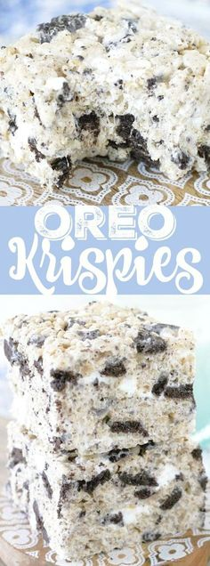 Oreo Krispies - Best Tasty Recipes On The Web