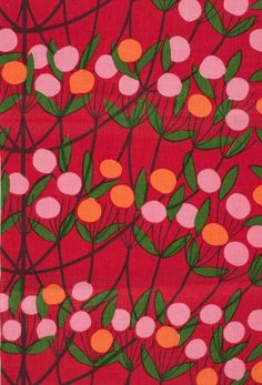 TEXTILES: Birgitta Dahlström wanted to be an inventor, but undoubtedly many people are happy that she designed patterns for Mölnlycke and Borås Wäfverier instead in the 50s and 60s.Photo: Designarkivet