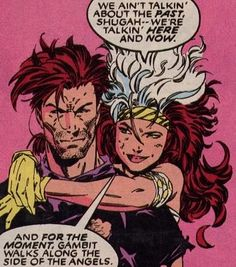 rogue and gambit kiss - Google Search