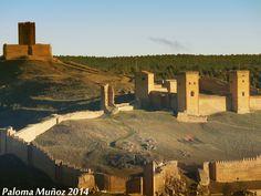 Vista general del castillo-fortaleza de Molina de Aragón. Overview of the castle-fortress of Molina de Aragón. Province of Guadalajara