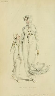 The hooded jacket could be designer clothing today. Ackermann 1809