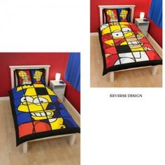 The Simpsons bedding