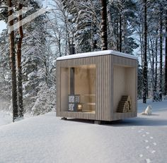 Sauna Shower, Prefab Sheds, Outdoor Furniture, Outdoor Decor, Outdoor Storage, Tiny House, Architecture, Outdoor Structures, Cabin