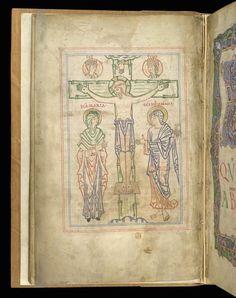 crucifixion arundel gospels winchester school - Google Search