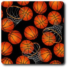 Basketballs Black/Orange Fabric By The Yard: From Timeless Treasures this novelty print fabric has a color palette of orange black and white. Fabric is perfect for quilting and home decor accents. Novelty Fabric, Novelty Print, Timeless Treasures Fabric, Shops, Orange Fabric, Leather Fabric, Amazon Art, Outdoor Fabric, Square Quilt