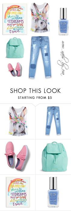 """""""Untitled #151"""" by wownails on Polyvore featuring Bebe, Keds, Vera Bradley, Stupell and Barry M"""