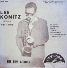 Lee Konitz Featuring Miles Davis - The New Sounds (Vinyl, LP) at Discogs