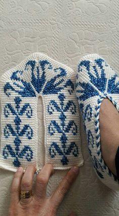 All Seasons Slippers -Knitting Pattern., All Seasons Slippers -Knitting Pattern., Anleitungen All Seasons Slippers -Knitting Pattern. Tunisian Crochet, Crochet Stitches, Free Crochet, Knit Crochet, Knitted Baby, Crochet Granny, Crochet Boots, Crochet Clothes, Crochet Crafts