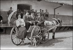 https://flic.kr/p/UpZAXc | Arrival in Eskişehir | I suppose that Eskisehir was the actual destination of the trip. While the Constantinople photographs mainly show tourist attractions, the Eskisehir views show groups and persons. Maybe part of the family lived in Turkey and the young man was going to take over a company from his father and was introduced to important persons.  From a set of originally more than 200 negatives. Unfortunately many of them were exposed to moisture during the…