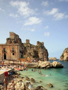 Guide to a Perfect, Nine-Day Trip to Sicily A guide to Sicily, Italy by Town & Country Magazine.A guide to Sicily, Italy by Town & Country Magazine. Places To Travel, Travel Destinations, Places To Visit, Travel Trip, Italy Vacation, Vacation Spots, Sicily Italy, Toscana Italy, Sorrento Italy