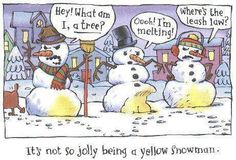 Snowman humor ;)