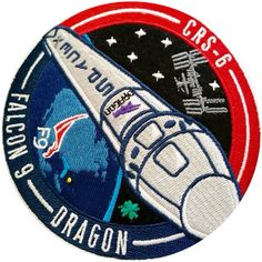 Mission patch Nasa Spacex, Patch Design, Badges, Coins, Patches, Product Launch, Social Media, Coining, Button Badge