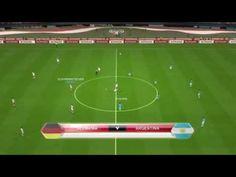 Pes 2014 Ps3 Gameplay - Alemania vs Argentina - Final FIFA World Cup 2014