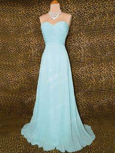 tiffany blue prom dress cheap prom dresses chiffon by sofitdress, $123.00