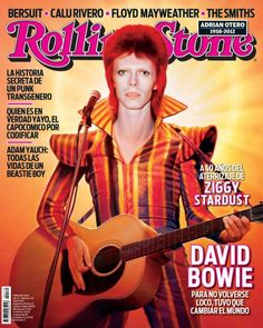 Zyggy Stardust na Rolling Stone argentina! Salute Bowie!